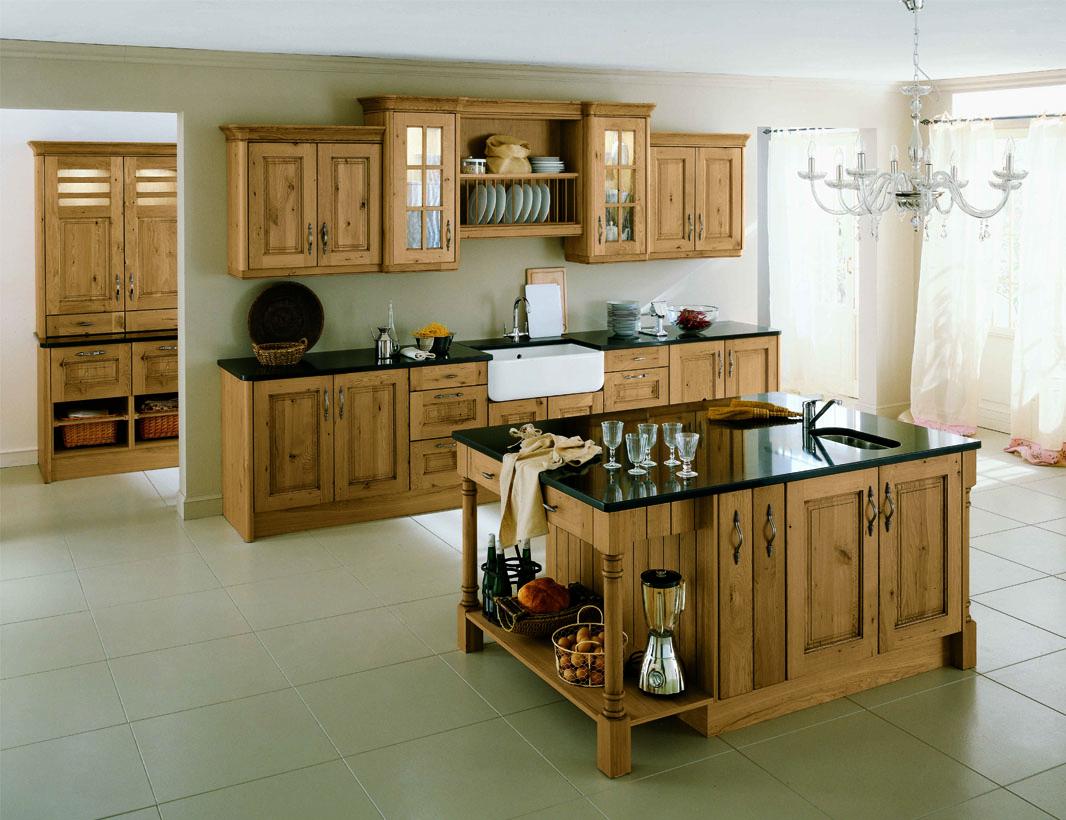 Crean Oak Kitchen